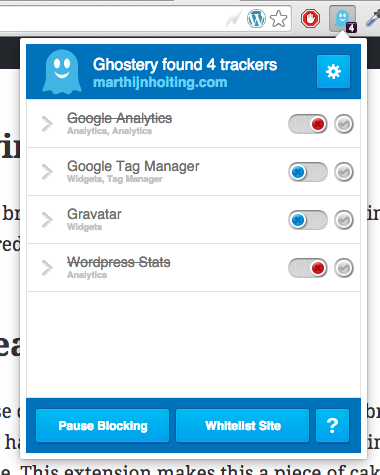 ghostery google chrome